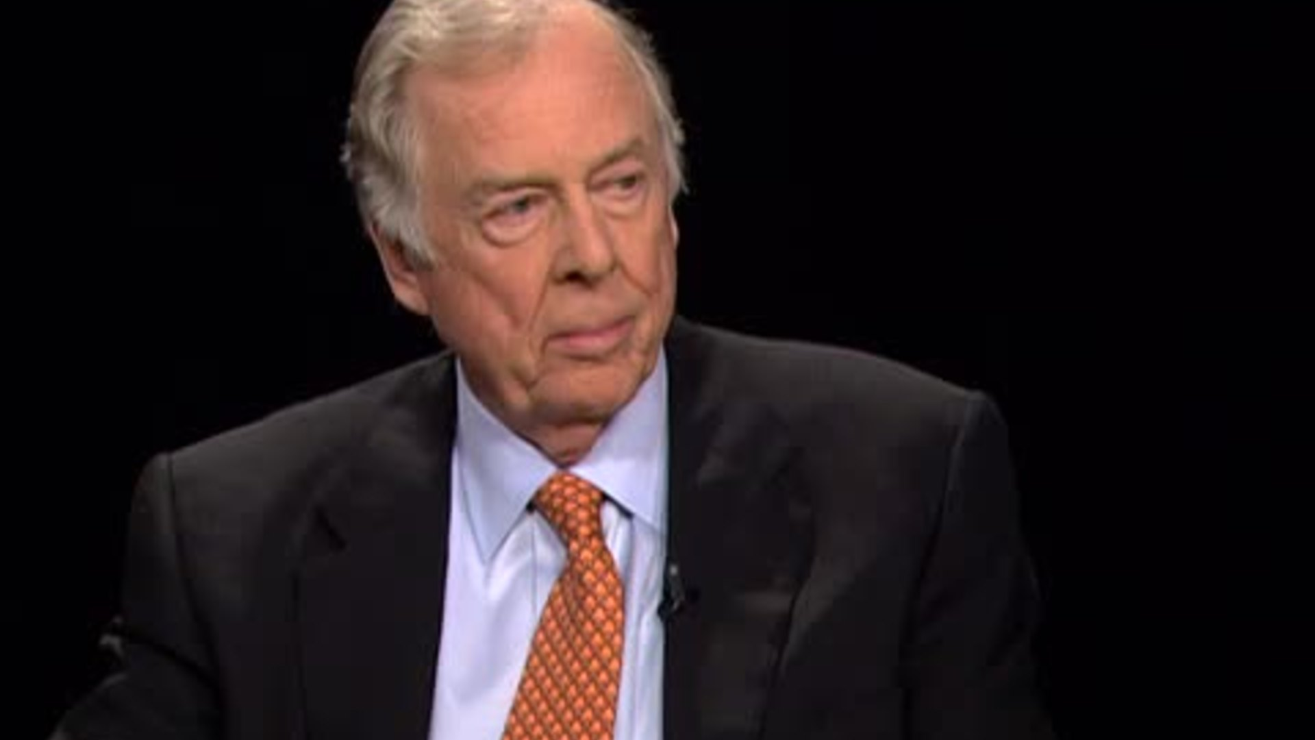 the legendary t boone pickens in the oil business