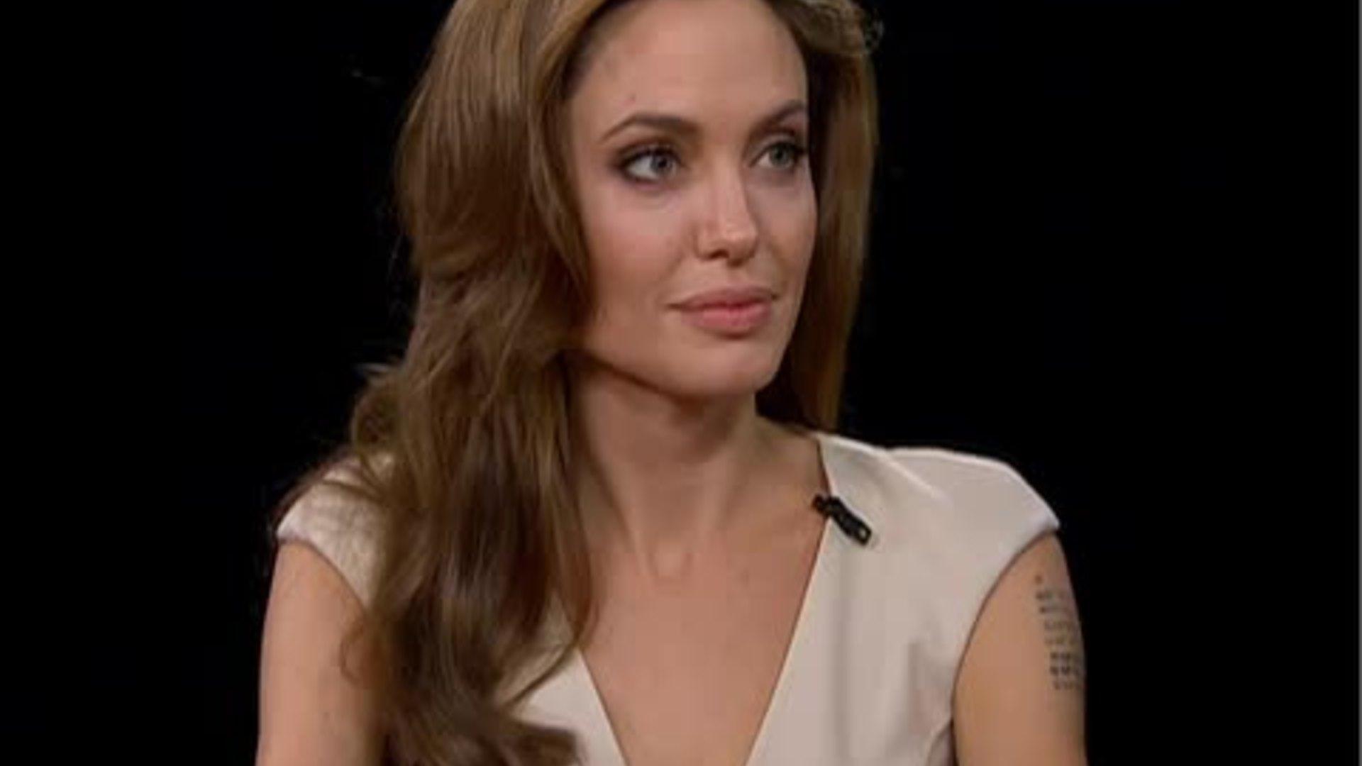 Angelina Jolie — Charlie Rose