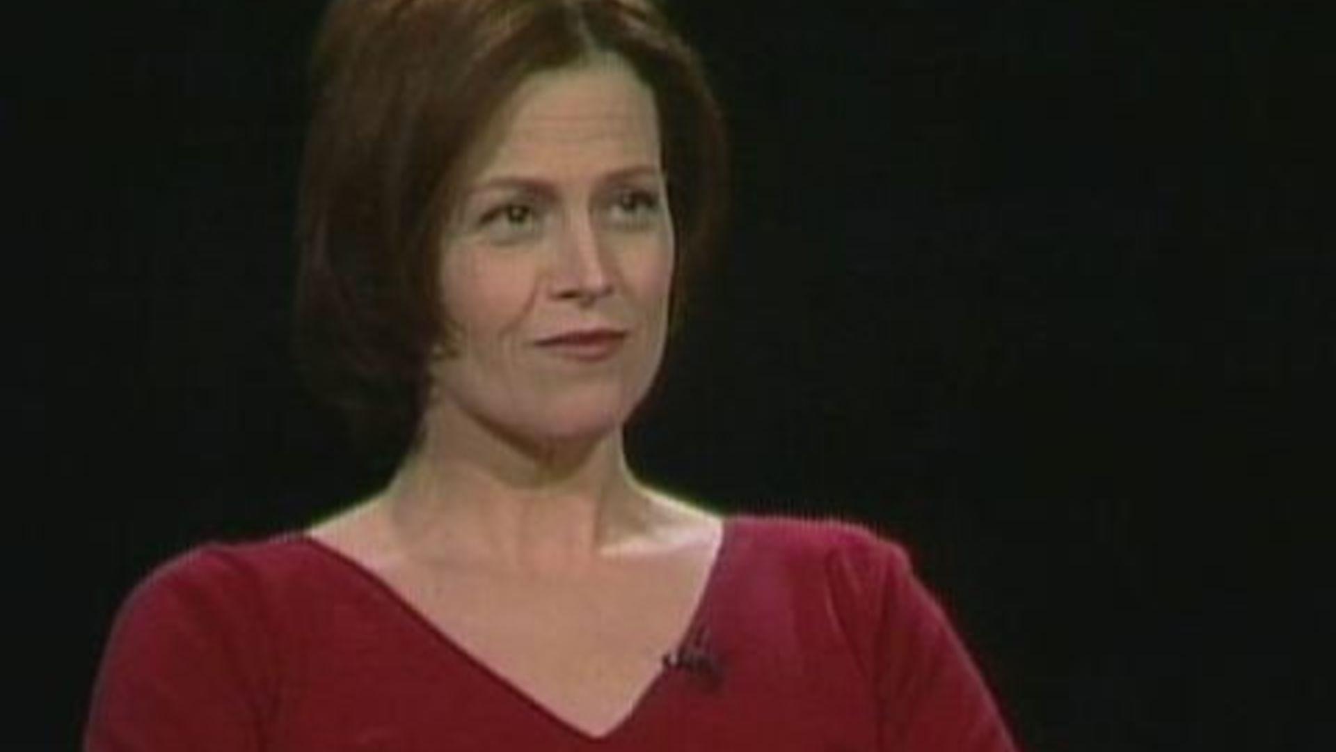 Sigourney Weaver — Charlie Rose
