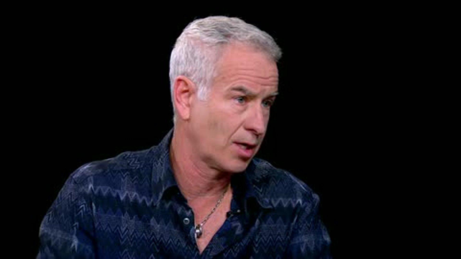 John McEnroe — Charlie Rose