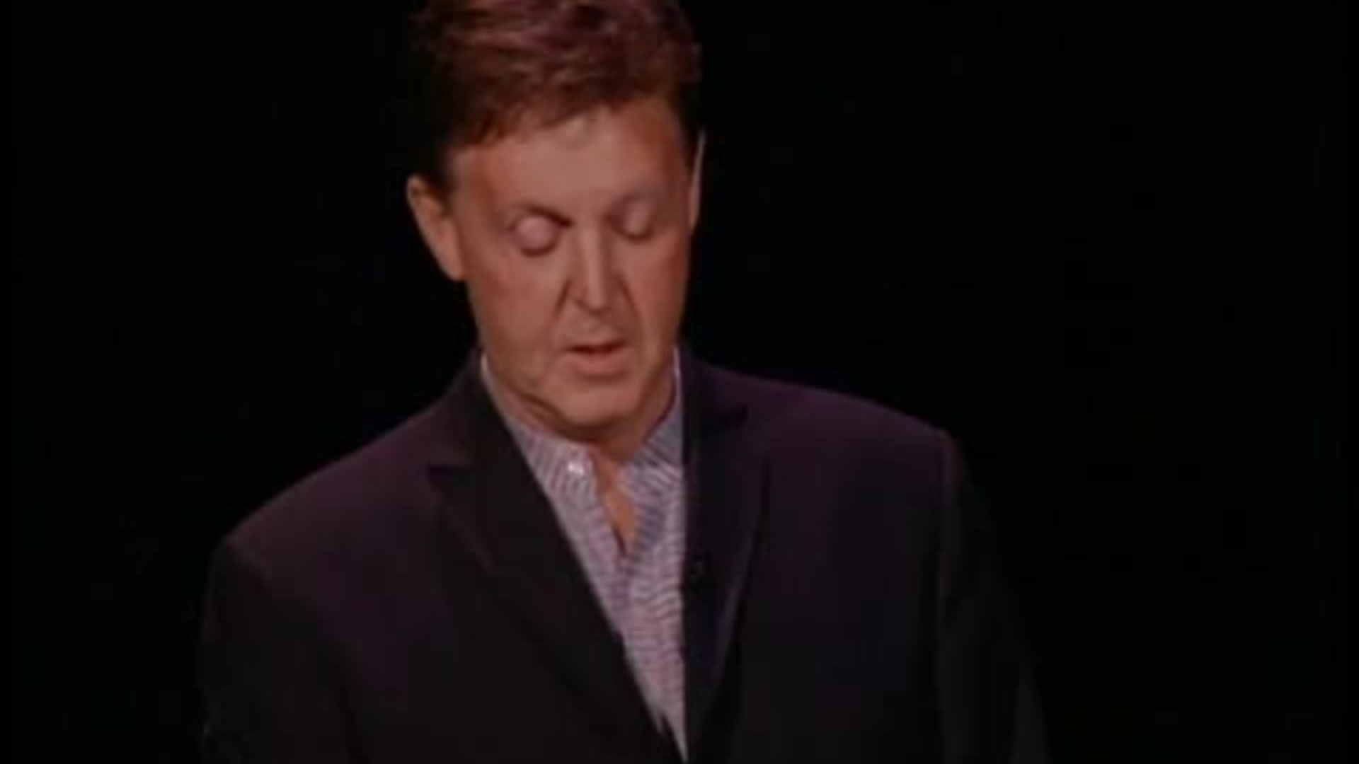 EntertainmentAir Date 06 11 2001 Paul McCartney Talks About His Book Of Poems Songwriting Painting And The Importance Family