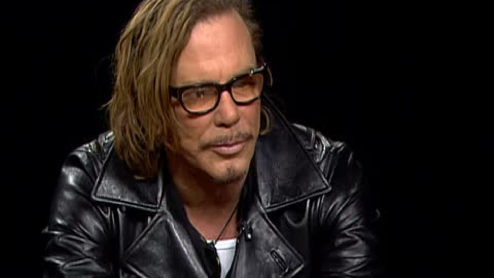 neil young mickey rourke julian schnabel � charlie rose