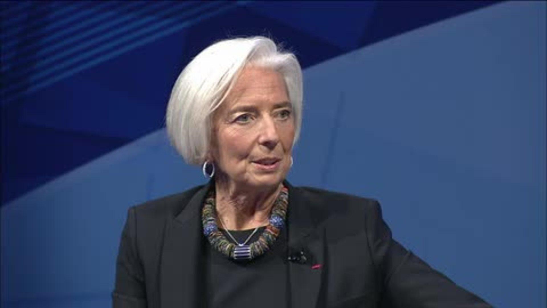 Christine Lagarde — Charlie Rose