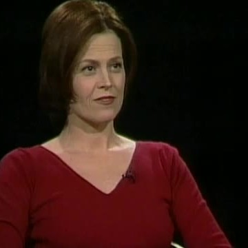 Sigourney Weaver — Charlie Rose on huge wall maps of the world, sigourney weaver deal of the century, sigourney weaver the tv set, julianne moore movie a map of the world,