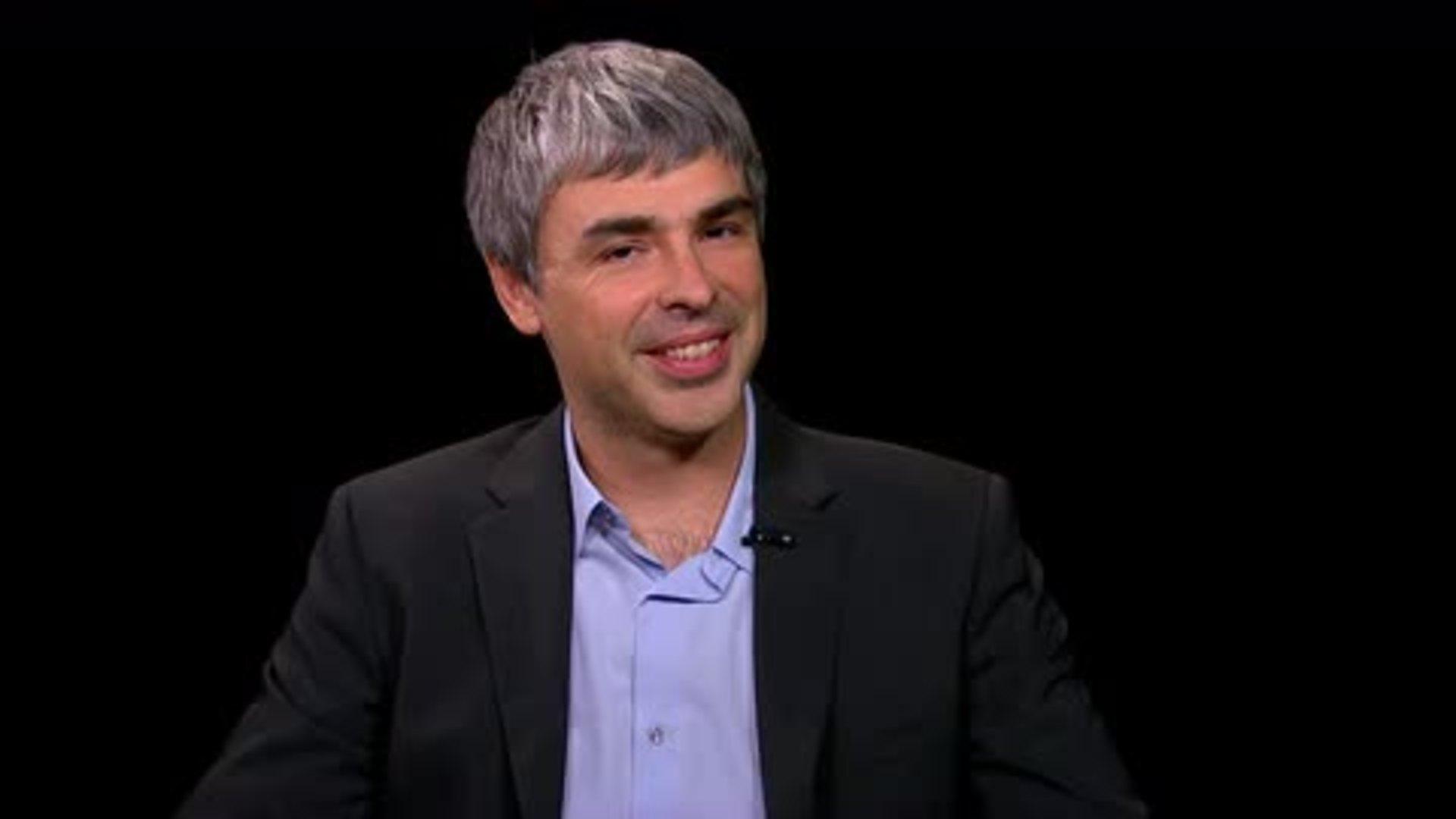 Larry Page; Google Postscript — Charlie Rose