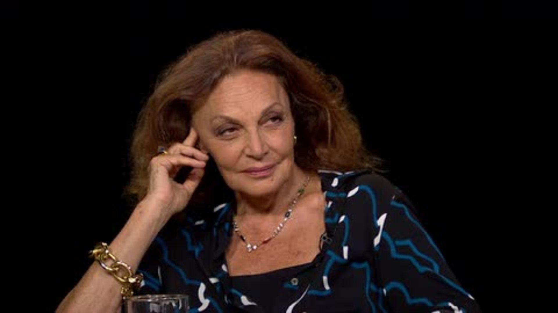 diane von furstenberg charlie rose. Black Bedroom Furniture Sets. Home Design Ideas
